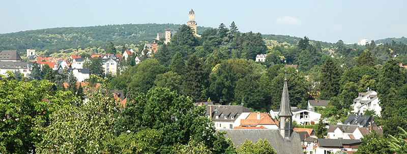 Immobilien finanzieren · Blick richtung Norden auf Kronberg