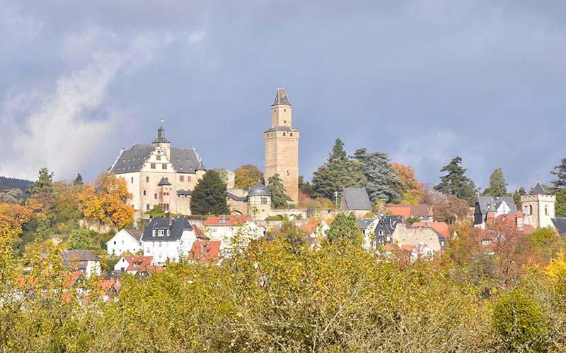 Herbstliches Kronberg